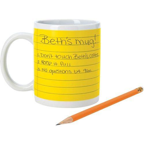 Stoneware Notepad Mug Image 2