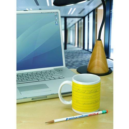 Stoneware Notepad Mug Image 4