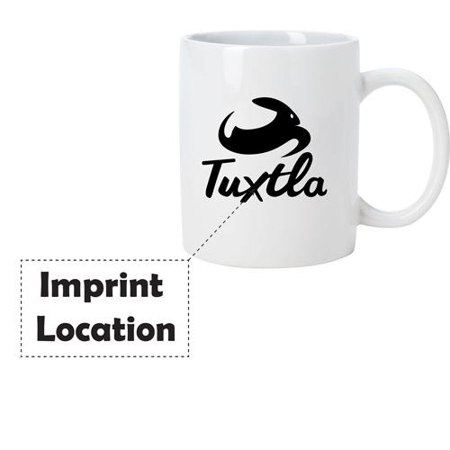 Stoneware Notepad Mug Imprint Image
