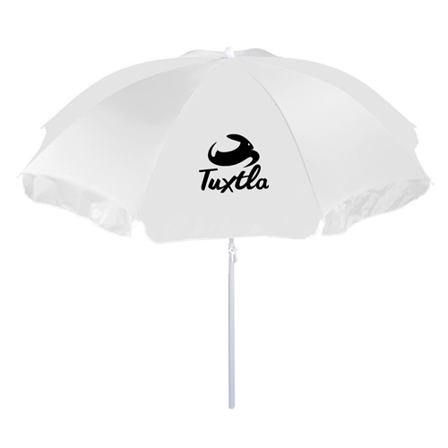 Two Piece Beach Umbrella Image 1