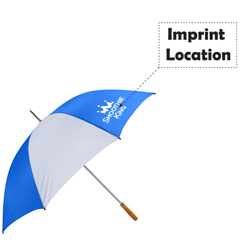 Golf Umbrella With Jumbo 60 Inch Imprint Image