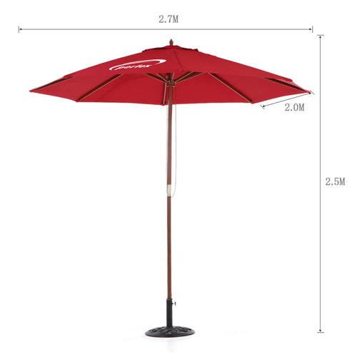 Outdoor Beach Parasol Canopy Image 3