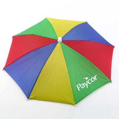 Umbrella Hat Multicolor Cap Image 2
