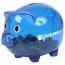 Translucent Durable Piggy Bank Image 1