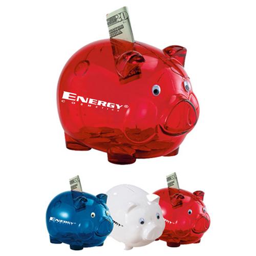 Translucent Durable Piggy Bank Image 4