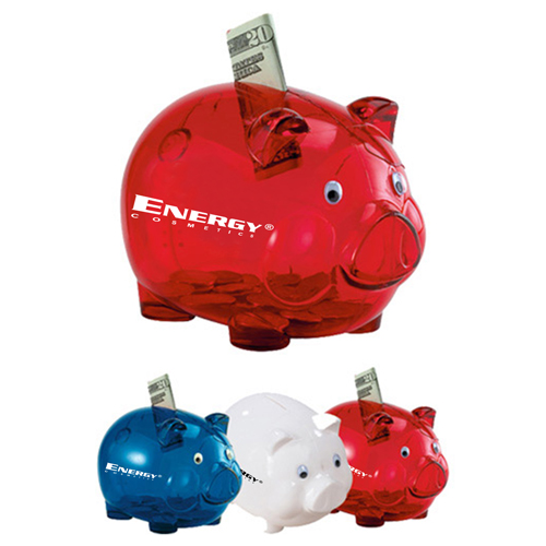 Translucent Durable Piggy Bank Image 5