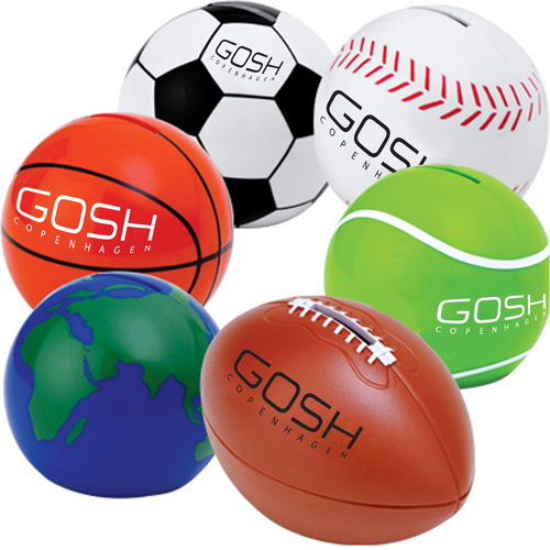 Sport Ball Shaped Coin Bank
