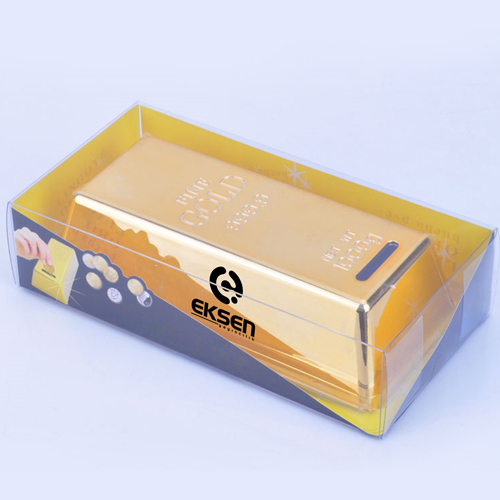 Gold Bar Shape Piggy Bank Image 5