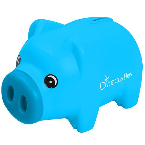 Plastic Beautiful Piggy Bank