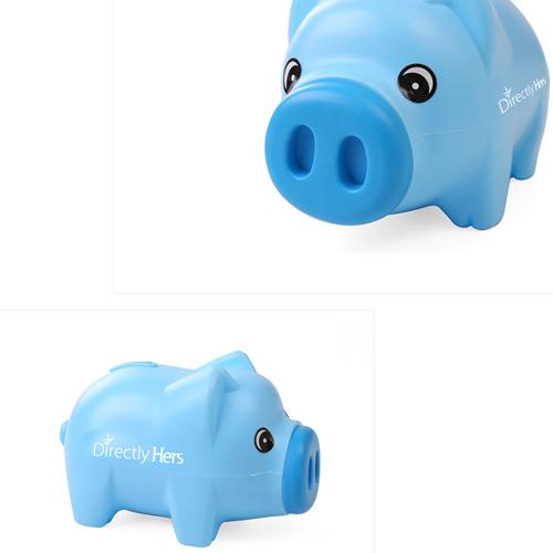 Plastic Beautiful Piggy Bank Image 5
