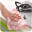 Hangable Coral Velvet Kitchen Towel Image 3