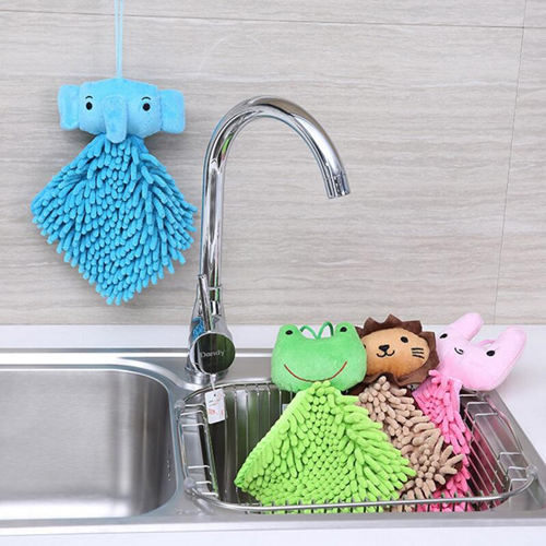 Multifunction Cartoon Animals Kitchen Towel Image 2