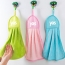 Hangable Velvet Kitchen Cleaning Cloth