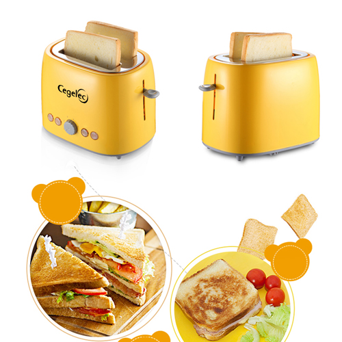 Automatic 2 Slicers Toaster