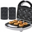 Electric 3-In-1 Sandwich Waffle Maker Image 1