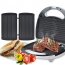 Electric 3-In-1 Sandwich Waffle Maker Image 2