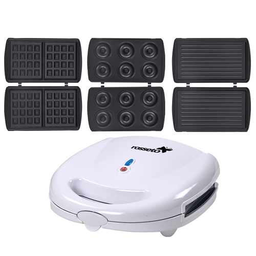 Electric 3-In-1 Sandwich Waffle Maker Image 3