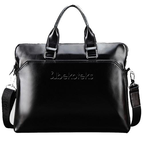 Leather Handbag Messenger Shoulder Bags Image 1