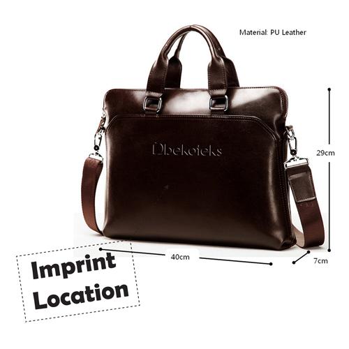 Leather Handbag Messenger Shoulder Bags Imprint Image