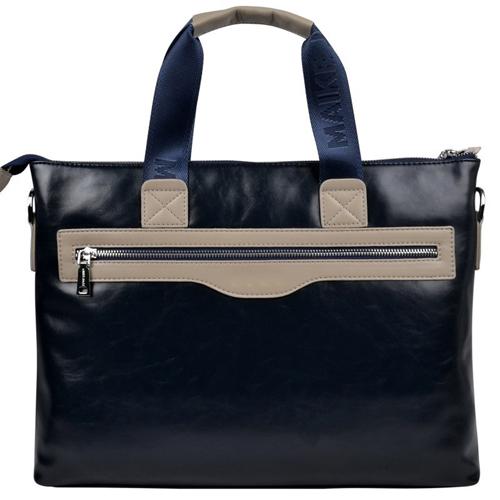 Vintage Leather Briefcase Business Bag Image 2