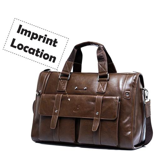 Crossbody Laptop Shoulder Briefcase Bag Imprint Image