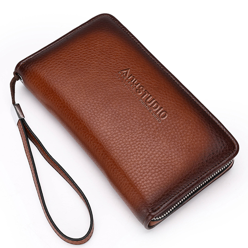 Mens Clutch Wallets Handy Bag Image 1