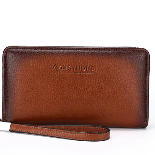 Mens Clutch Wallets Handy Bag Image 2
