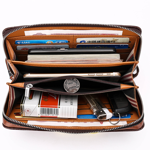 Mens Clutch Wallets Handy Bag Image 4