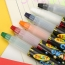 Non Toxic Silky 6 Colors Pencil Image 1