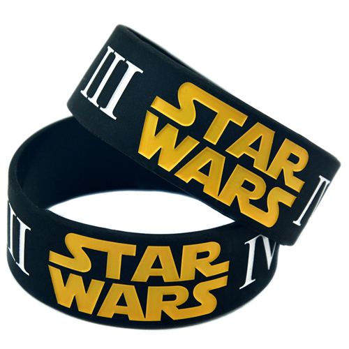 Silicone 25 Pieces Wristband Bracelet