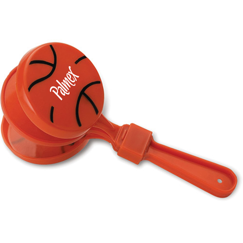 Basketball Shaped Clapper Image 2