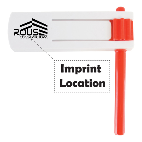 Spin Rattle Noise Maker Imprint Image