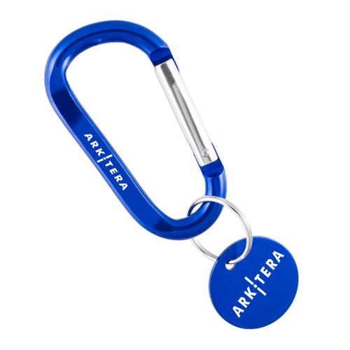Medallion Carabiner Keychains Image 4