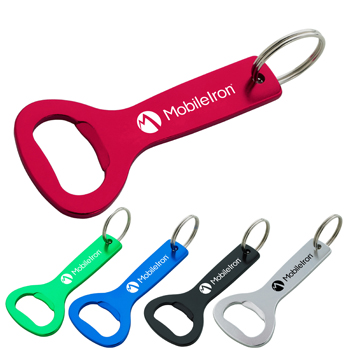 Aluminum Bottle Opener Key Ring