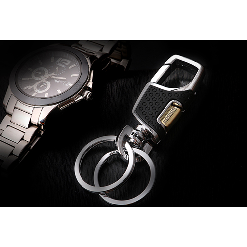 Fashion Silver Men Keychain Image 6