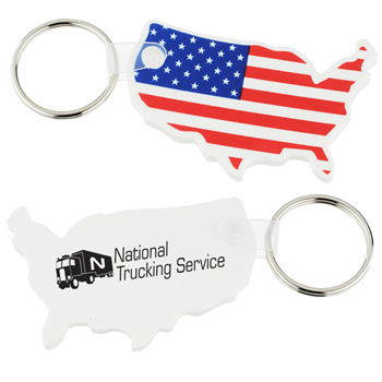 Custom Shape Vinyl Soft Key Tag