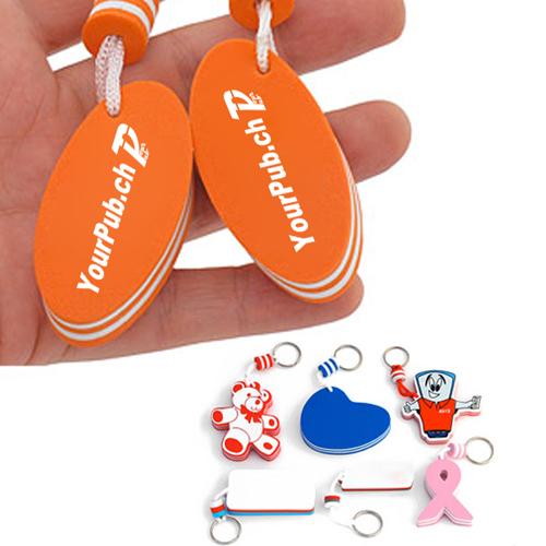 Floating Custom Shaped Key Chains