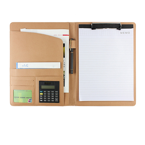 Multifunction Folder Padfolio Softcover Stationery Organizer