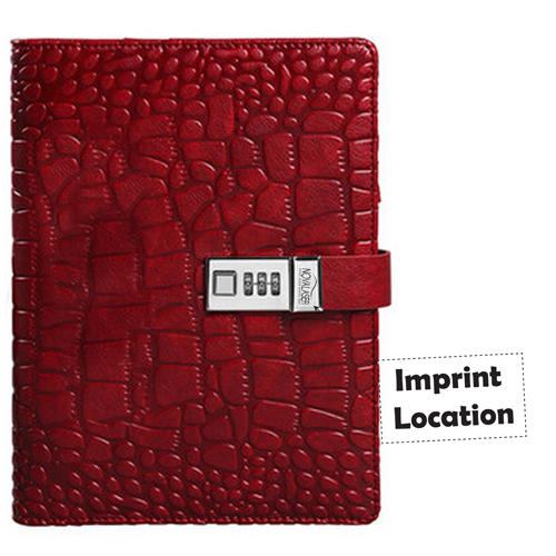 Fashion Alligator Pattern A5 Diary Imprint Image