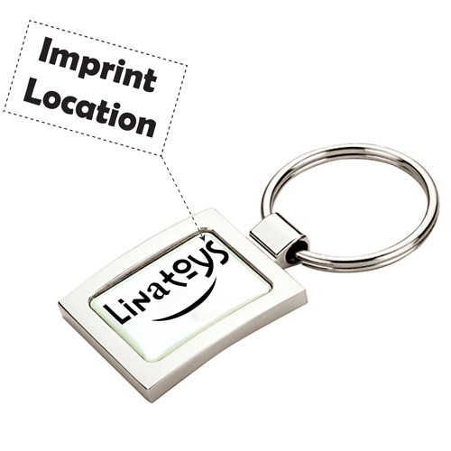 Promotional Hi-Polish Key Tag Imprint Image