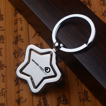 Star Key Chain Ring Holder