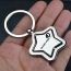 Star Key Chain Ring Holder Image 1