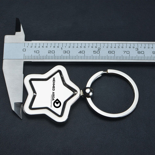 Star Key Chain Ring Holder Image 4