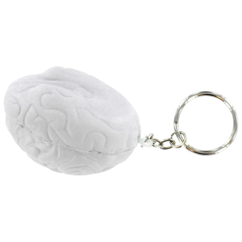 Brain Shape Stress Ball Key Chain  Image 1