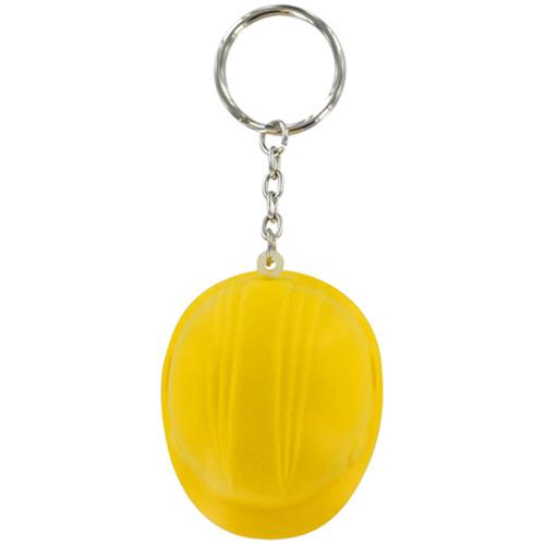 Hard Hat Stress Ball Keychain Image 2