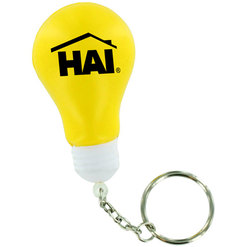 Creative Light Bulb Stress Keychain Image 3