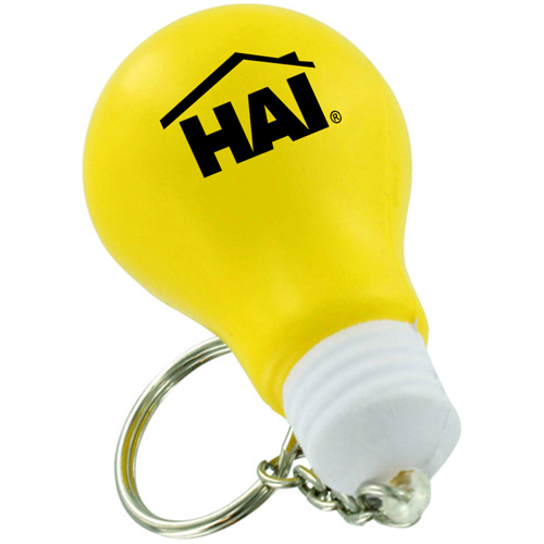 Creative Light Bulb Stress Keychain Image 4