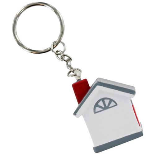 House Stress Ball Key Chain Image 2