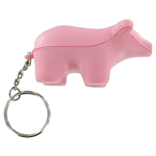 Pig Toy Stress Key Chain  Image 2