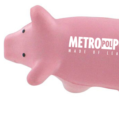 Pig Toy Stress Key Chain  Image 4